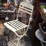 schwerer Stuhl, klappbar