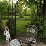Pevillon +Gartenmöbel