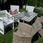 wechselndes Angebot an Stühlen