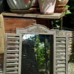 Spiegel für draußen und drinnen
