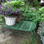 Gartenbänke , Einzelstücke