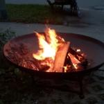 Feuerschalen, auch als Teich geeignet
