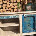 Konsole, altes Holz