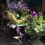 Lavendel-Kräuterkranz