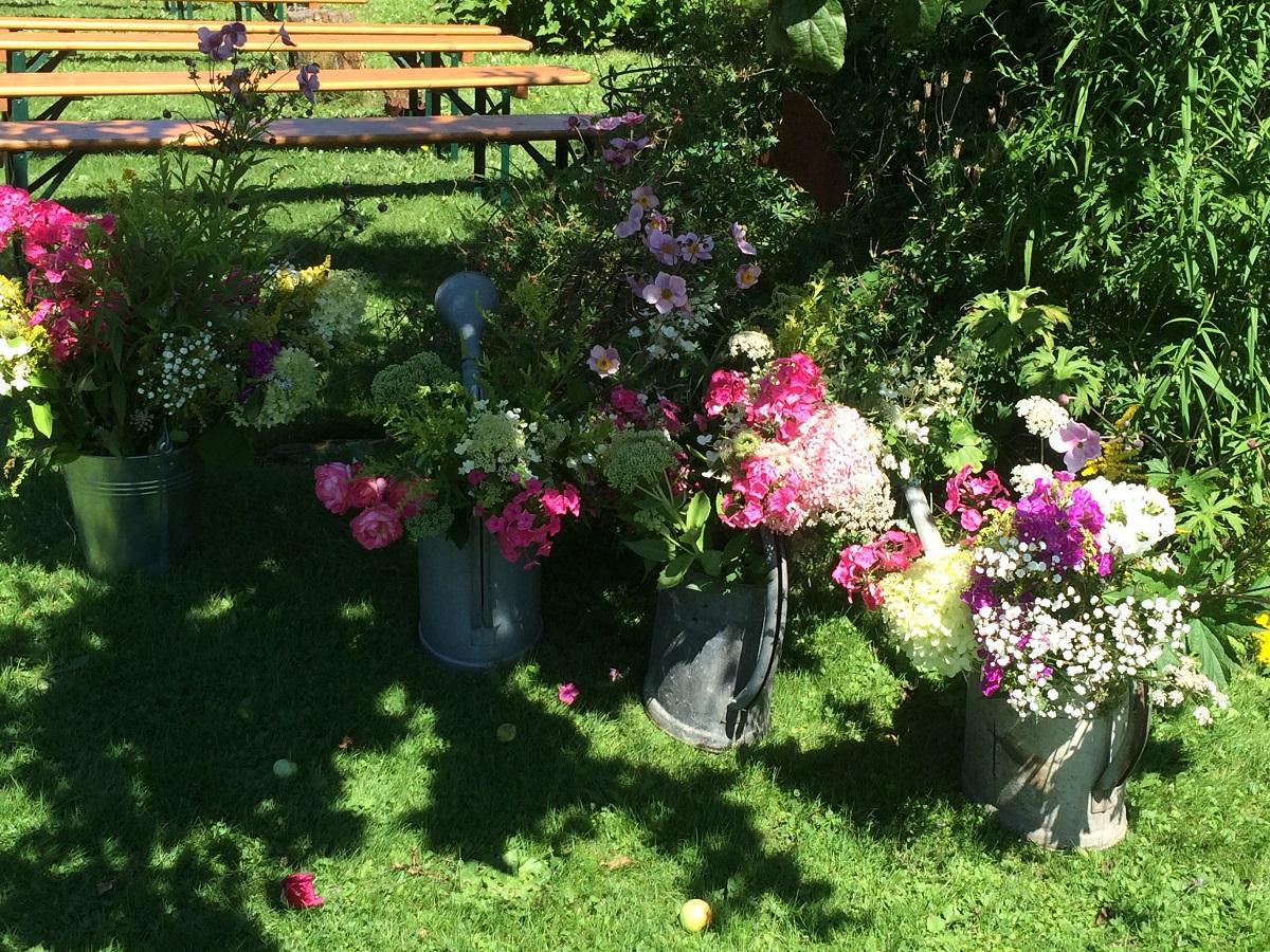 Deko fürs Gartenfest