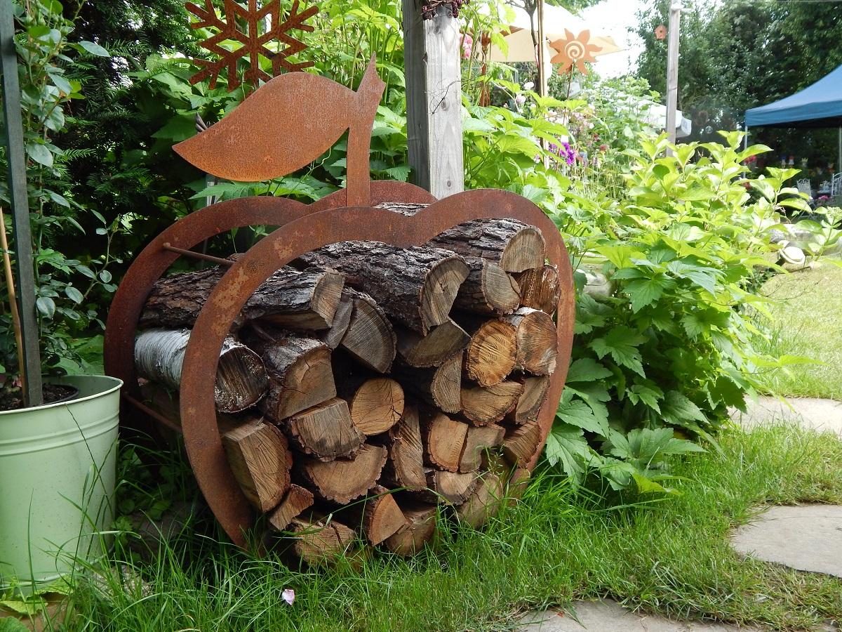 Holzvorrat ganz atraktiv