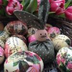 Eier und Hasen