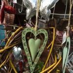 viele Herzen, hier aus Blech