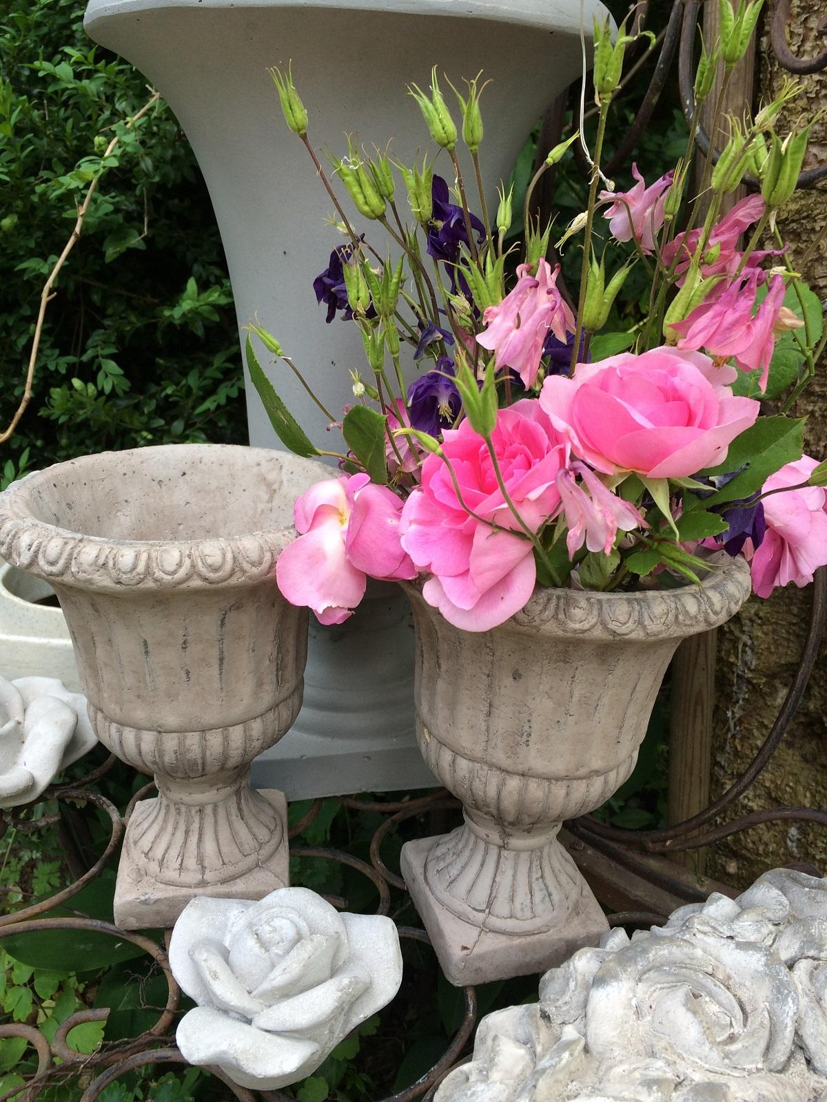 echte Rosen aus dem Garten