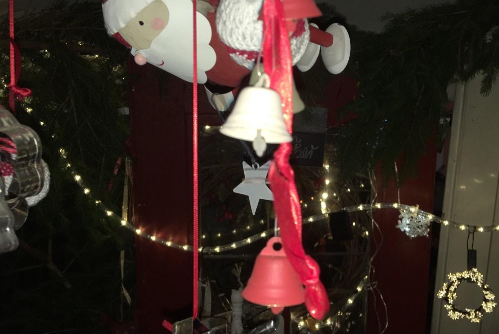 fliegende Weihnachtsmänner